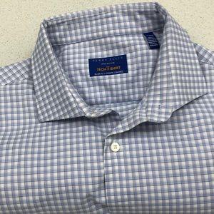 Perry Ellis Tech Shirt Size 17.5 34/35